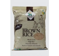 SONAMASURI RAW RICE BROWN 1 KG